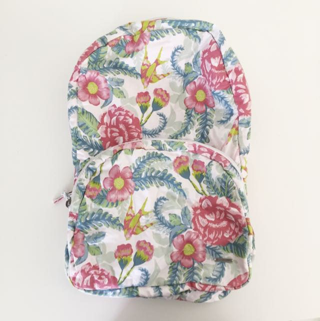 Billabong Floral Soft Backpack
