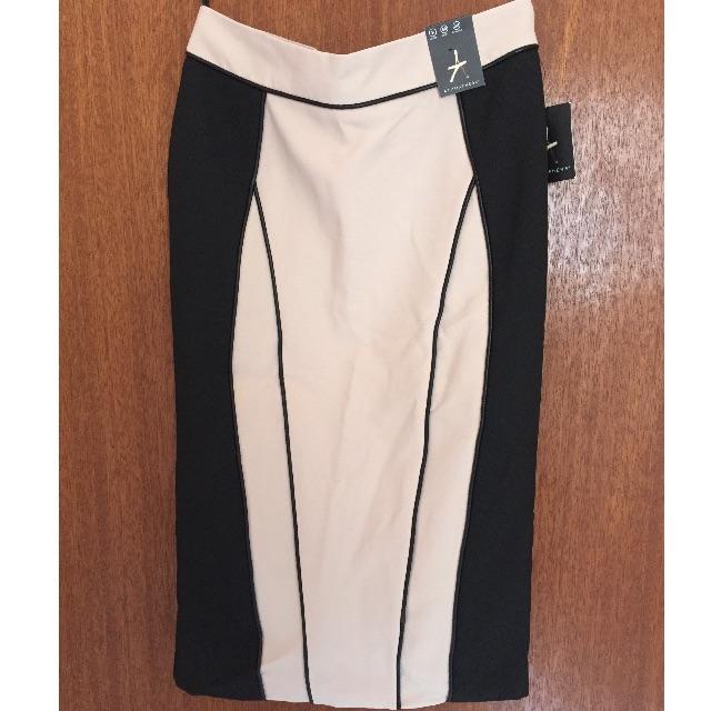 Black Cream Skirt Size 8
