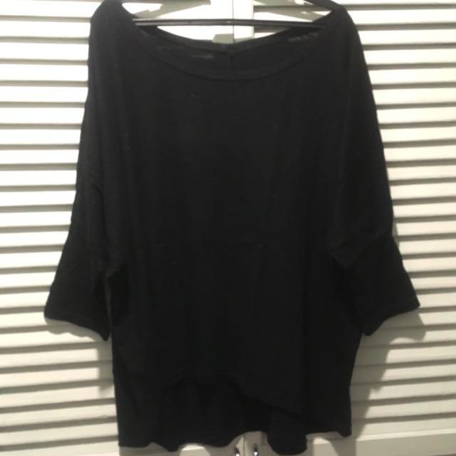 Black Sparkly Shirt