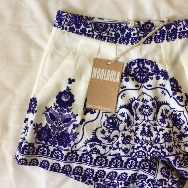 BNWT Mooloola Shorts