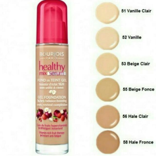 Bourjois Healthy Mix Serum Gel Foundation Vanille Clair 51