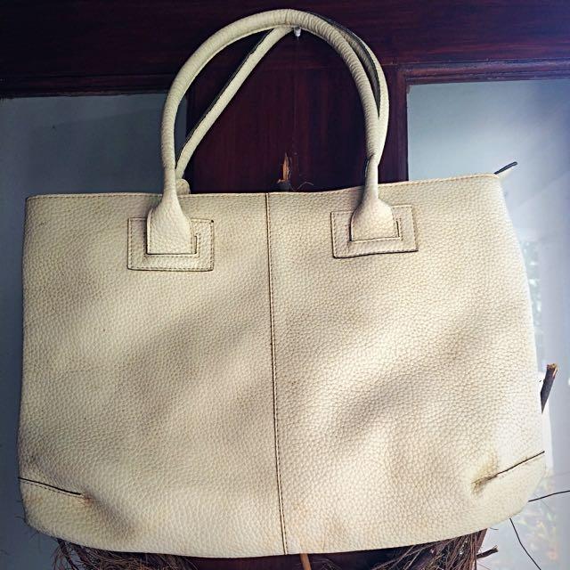 Broken White Tote Bag
