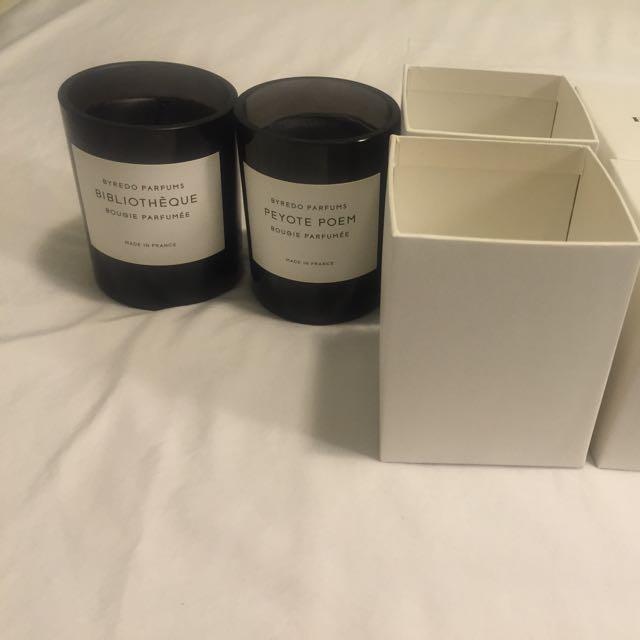 Byredo Parfums Candles