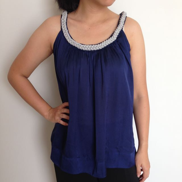 Bysi Blue Top