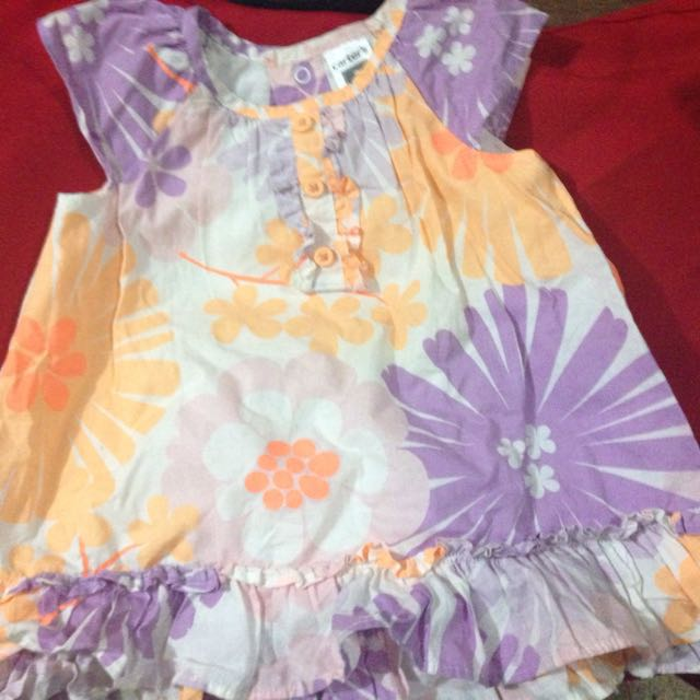 Carter's Dress (can Also Be Worn As Blouse)