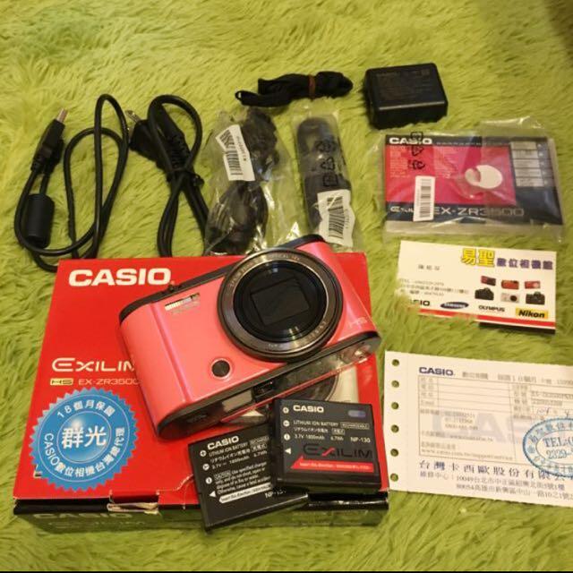 急售Casio ZR3500 可議