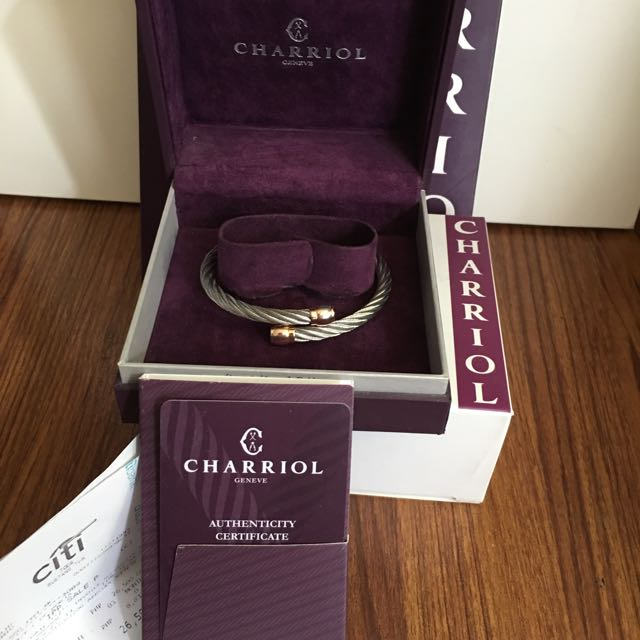 Charriol Bangle (Rose gold)