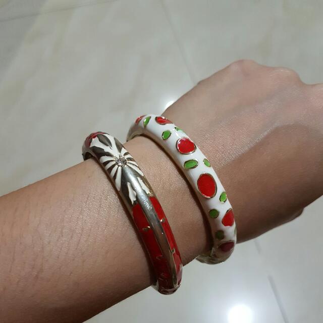 Cherry Bangles