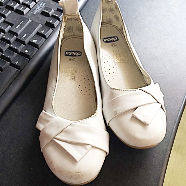 Chicco White Shoes