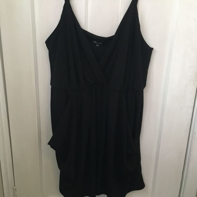 City Chic XL Typical Little Black Dress