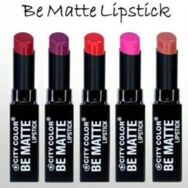 City Color Be Matte Lipstick ORI!!!!