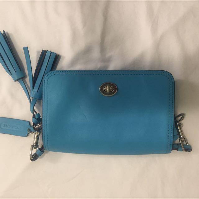 Authentic Coach Mini Tote Bag