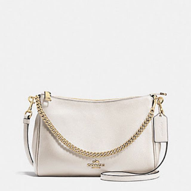 Coach pebbled leather cross body Authentic