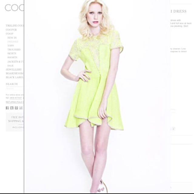 COOP Silk Bonsai Dress