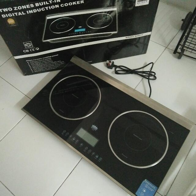 Dapur Elektrik Digital Induction Cooker Kitchen Liances On