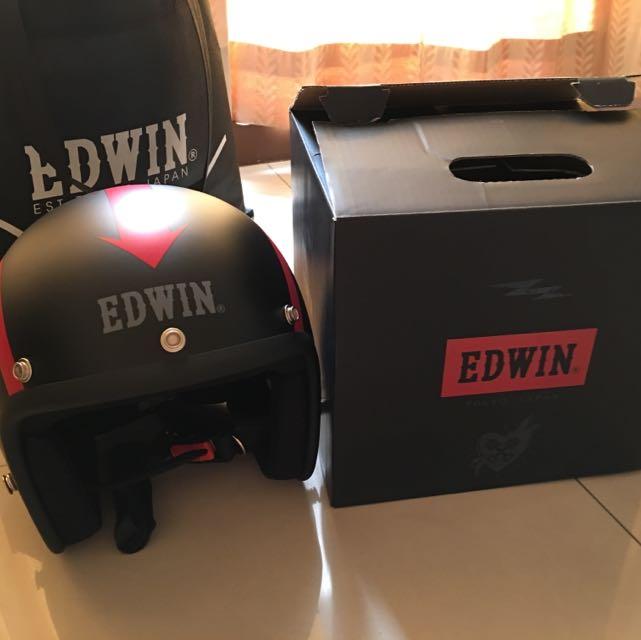 全新EDWIN安全帽