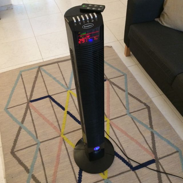 Reserved - EuropAce Tower Fan - Remote Control - Good Condition
