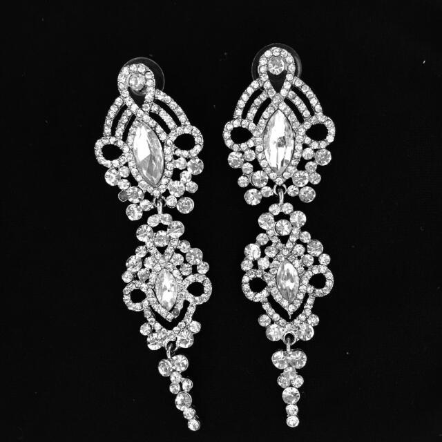 Fancy Crystal Earrings