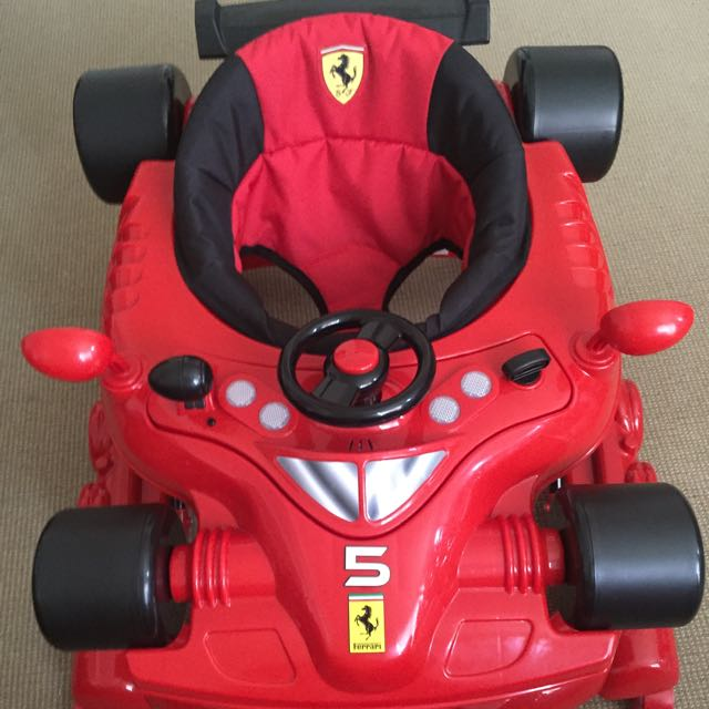 Ferrari Baby Walker Red Babies Kids Others On Carousell