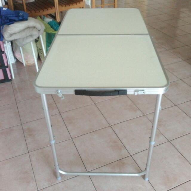 Foldable/Adjustable Table + IKEA Lamp + Set Of Aquarium