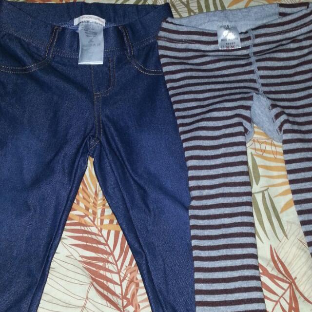 F&X Jeans Stretchable/Busha Pants 2-3yo