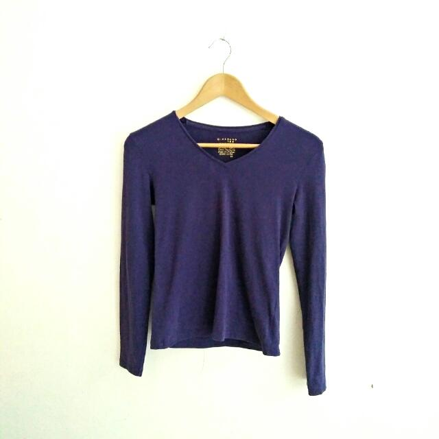 GIORDANO Long sleeves Top