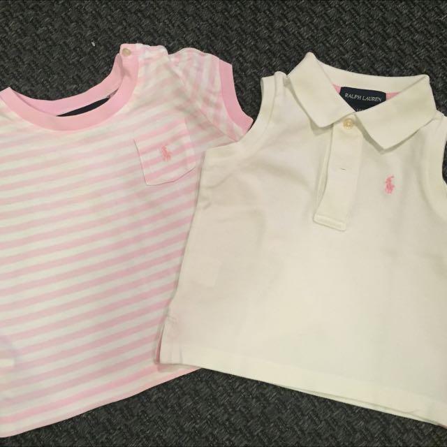 Girls Shirt - 2 Pc
