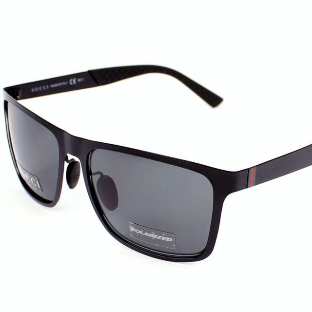 b7ac28e20e7 GUCCI SUNGLASSES New Polarized GUCCI Sunglasses GG 2238 S PDERA 57 ...