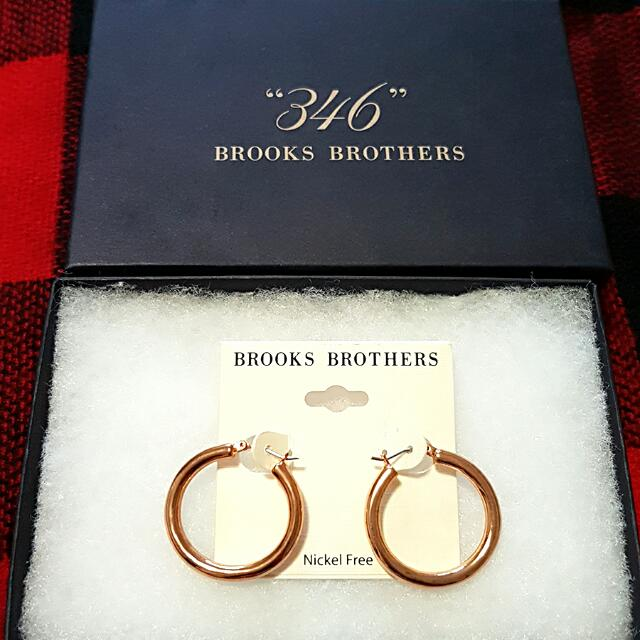 Hoop Earrings (Brooks Brothers)