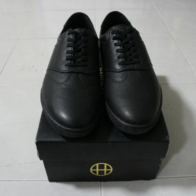 a9bac14b12fb Huf Dylan Rieder Black Leather Skate Shoe