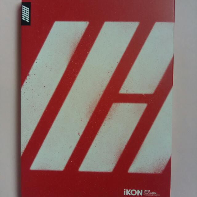 """iKON DEBUT HALF ALBUM """"Welcome Back"""" (bobby edition)"""