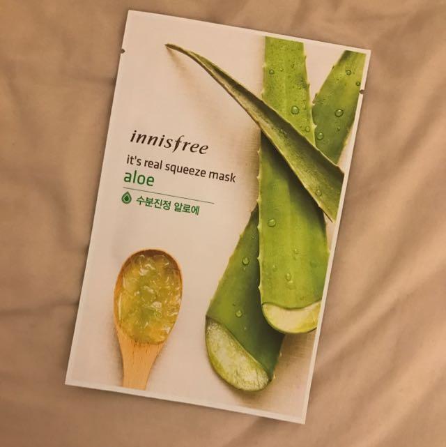 Innisfree: Face Mask (Aloe)