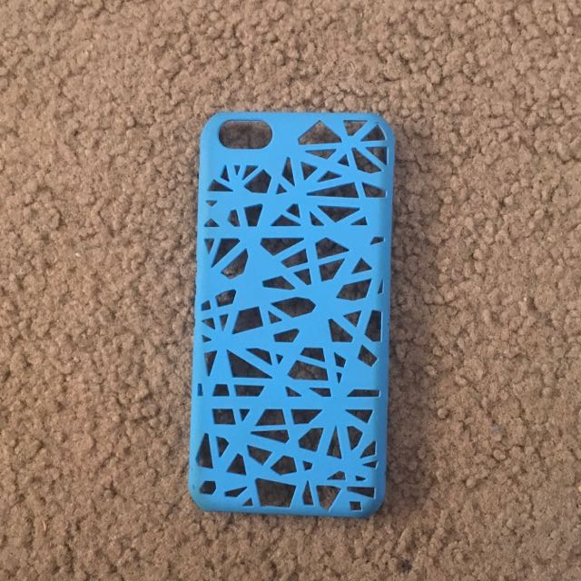 iPhone 5C Blue Hard Back Case