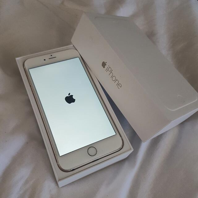 Iphone 6 Plus Gold 34gb