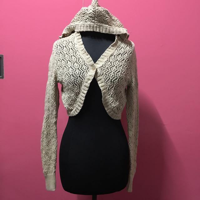 knitted hoodie ❤️