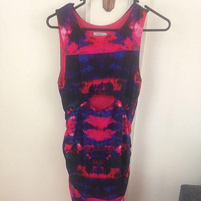 Kookai Colourful Dress