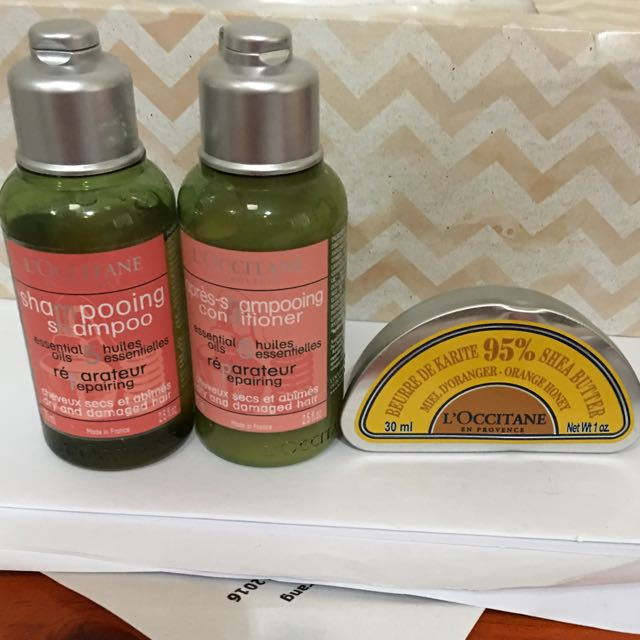 Loccitane Bathing Products