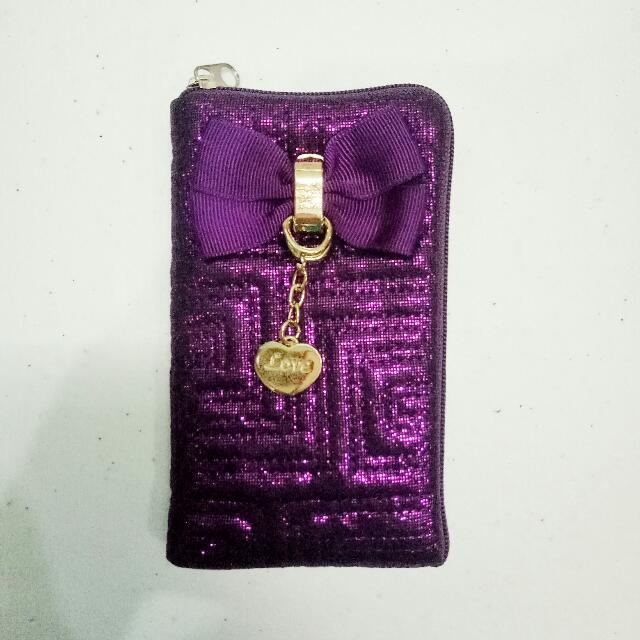 Love Purple Cellphone Holder
