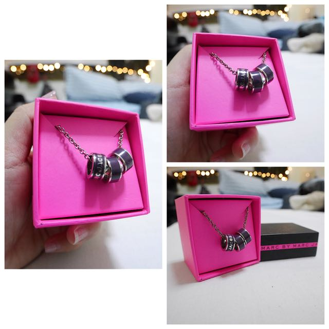 Marc By Marc Jacob Sweetie Rings Necklace
