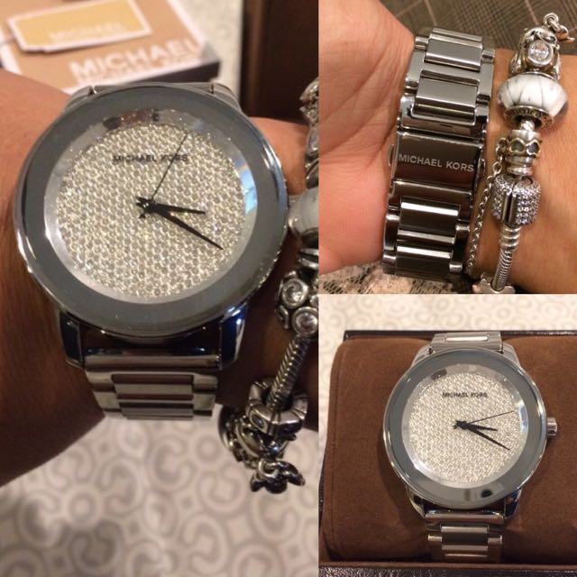 Michael Kors Kinly Pave (Silver)