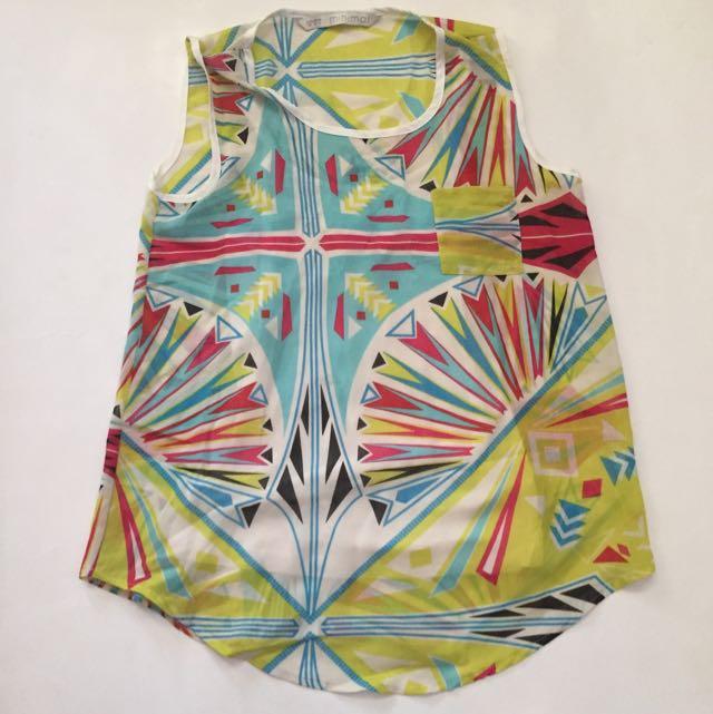 Minimal - pattern top