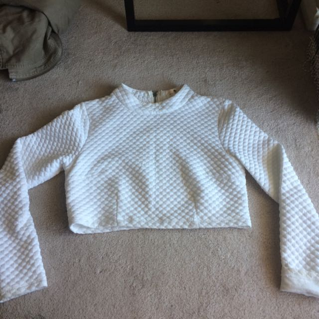 Morning Most Long Sleeve Crop