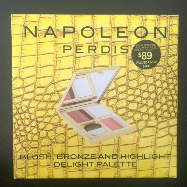 NAPOLEON PERDIS LIMITED EDITION BLUSH, BRONZE & HIGHLIGHT DELIGHT PALETTE
