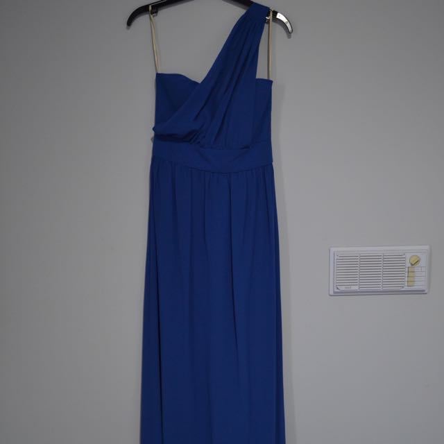 NEW Forcast Long Formal Dress Blue AU8