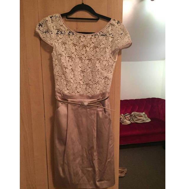 New Forever New Silk & Lace Dress Size6 (UK/AU). RRP $139.99