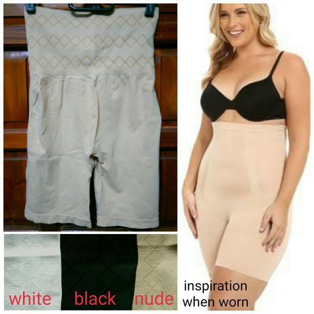 Nude High Waist Girdle Support Shorts Like Spanx Wacoal