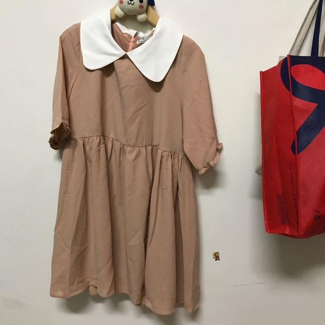 Pazzo粉色洋裝