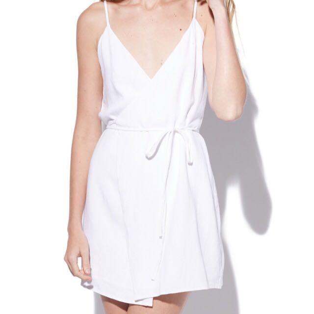 Perfect Stranger White Dress