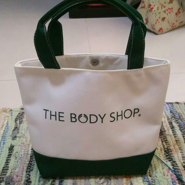 [Pre-loved] Body Shop Mini Hand Bag