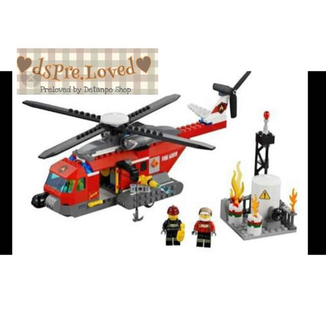 Preloved Lego Helicopter